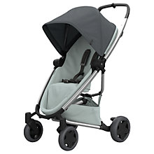 Buy Quinny Zapp Flex Plus Pushchair, Grey/Grey Online at johnlewis.com