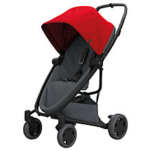 Buy Quinny Zapp Flex Plus Pushchair, Red/Grey Online at johnlewis.com