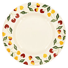 Buy Emma Bridgewater Summer Cherries Dinner Plate, Multi, Dia.28cm Online at johnlewis.com
