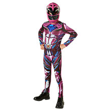 Buy Power Rangers Pink Ranger Dress Up Costume Online at johnlewis.com