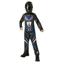 Buy Power Rangers Black Ranger Dress Up Costume Online at johnlewis.com