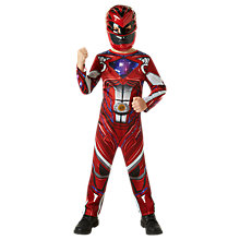 Buy Power Rangers Red Ranger Dress Up Costume Online at johnlewis.com