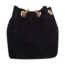Buy Coast Bailey Bucket Bag, Black Online at johnlewis.com