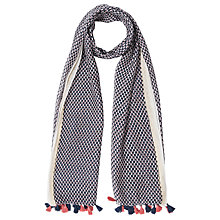 Buy Gerard Darel Fortune Scarf, Navy Blue Online at johnlewis.com