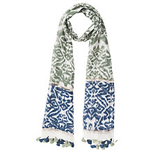 Buy Gerard Darel Fiona Scarf, Green Online at johnlewis.com