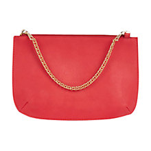 Buy Coast Hattie Pouch Clutch Bag, Pink Online at johnlewis.com