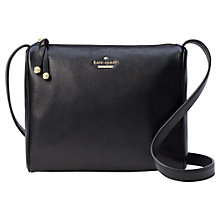 Buy kate spade new york Lombard Street Cayli Leather Cross Body Bag, Azurite Online at johnlewis.com