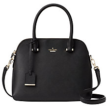Buy kate spade new york Cameron Street Maise Leather Satchel Online at johnlewis.com