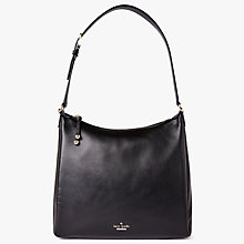 Buy kate spade new york Lombard Street Pauley Leather Satchel, Black Online at johnlewis.com