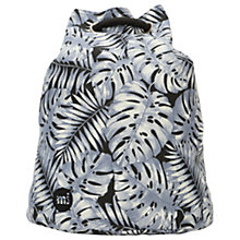 Buy Mi-Pac Tropical Leaf Swing Backpack, Grey Online at johnlewis.com