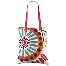 Buy Radley Summer Tribes Canvas Medium Tote Bag, Natural Online at johnlewis.com