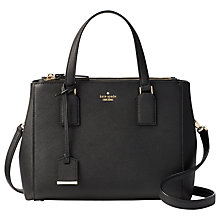 Buy kate spade new york Cameron Street Teegan Leather Satchel Online at johnlewis.com