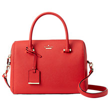 Buy kate spade new york Cameron Street Lane Large Satchel, Prickly Pear Online at johnlewis.com