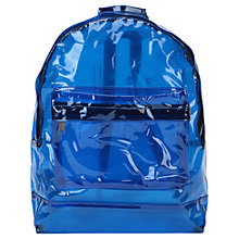 Buy Mi-Pac Classic Transparent Backpack, Blue Online at johnlewis.com