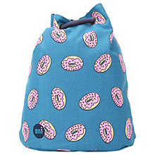 Buy Mi-Pac Doughnut Swing Backpack, Navy Online at johnlewis.com