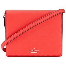 Buy kate spade new york Cameron Street Small Dody Leather Cross Body Bag, Prickly Pear Online at johnlewis.com