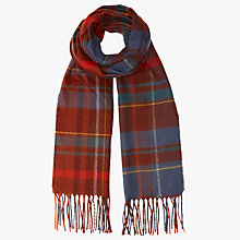Buy John Lewis Cashmink Twill Check Scarf, Multi Online at johnlewis.com