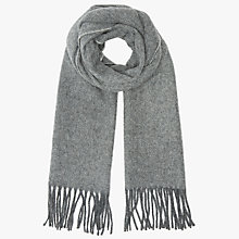 Buy John Lewis Herringbone Scarf Online at johnlewis.com