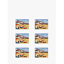 Buy Pimpernel St Ives Windbreak Placemats, Set of 6 Online at johnlewis.com