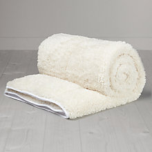 Buy little home at John Lewis Teddy Duvet, Pillow and Mattress Protector Set, Single Online at johnlewis.com