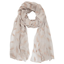 Buy Mint Velvet Raven Embroidered Scarf, Multi Online at johnlewis.com