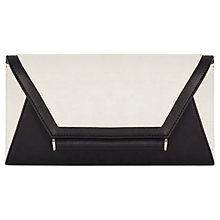 Buy Coast Lily Clutch Bag, Mono Online at johnlewis.com