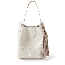 Buy AND/OR Maya Leather Bucket Bag, Multi Online at johnlewis.com