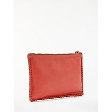 Buy AND/OR Maya Leather Pouch Clutch Bag Online at johnlewis.com