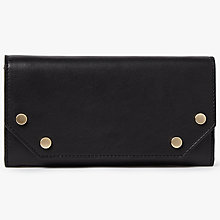 Buy Kin by John Lewis Luna Leather Studded Foldover Purse Online at johnlewis.com