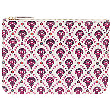 Buy John Lewis Calico Coin Pouch, Flower Print Online at johnlewis.com