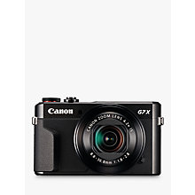 "Buy Canon PowerShot G7 X Mark II Digital Camera, HD 1080p, 20MP, 4.2X Optical Zoom, DIGIC 7 Processor, NFC, Wi-Fi, 3"" LCD Screen with Case & Memory Card Kit Online at johnlewis.com"