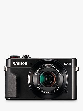 "Canon PowerShot G7 X Mark II Digital Camera, HD 1080p, 20MP, 4.2X Optical Zoom, DIGIC 7 Processor, NFC, Wi-Fi, 3"" LCD Screen with Case & Memory Card Kit"