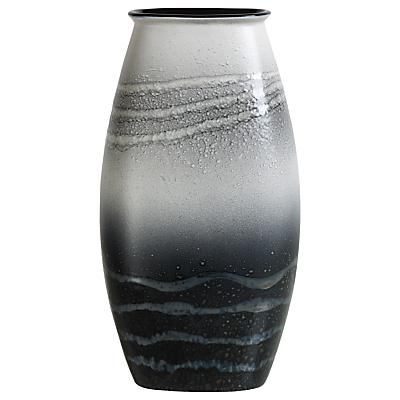 Poole Pottery Aura Manhattan Vase, Black/Multi, H36cm