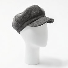 Buy John Lewis Bakerboy Monochrome Wool Hat Online at johnlewis.com
