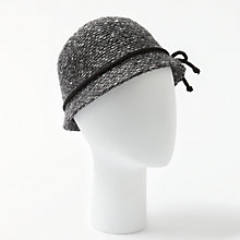 Buy John Lewis Mohair Blend Bow Cloche Hat Online at johnlewis.com