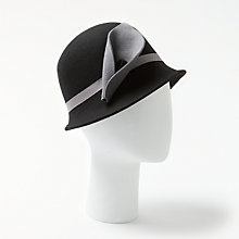 Buy John Lewis Wool Felt Cloche Hat, One Size Online at johnlewis.com