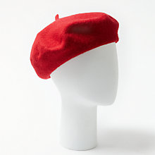 Buy John Lewis Wool Beret Hat Online at johnlewis.com