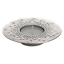 Buy Lancaster and Gibbings Floating Hearts Tealight Holder, Silver Online at johnlewis.com