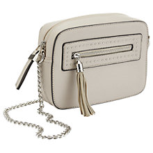 Buy Miss Selfrdige Box Across Body Bag, Grey Online at johnlewis.com