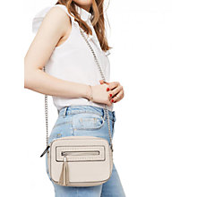 Buy Miss Selfridge Across Body Box Bag, Grey Online at johnlewis.com