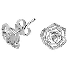 Buy Dower & Hall Wild Rose Stud Earrings Online at johnlewis.com