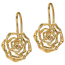Buy Dower & Hall Wild Rose Drop Earrings Online at johnlewis.com