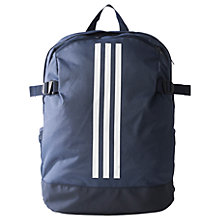 Buy Adidas 3-Stripes Power Sports Backpack, Medium Online at johnlewis.com