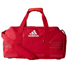 Buy Adidas 3-Stripes Performance Team Bag, Small, Pink Online at johnlewis.com