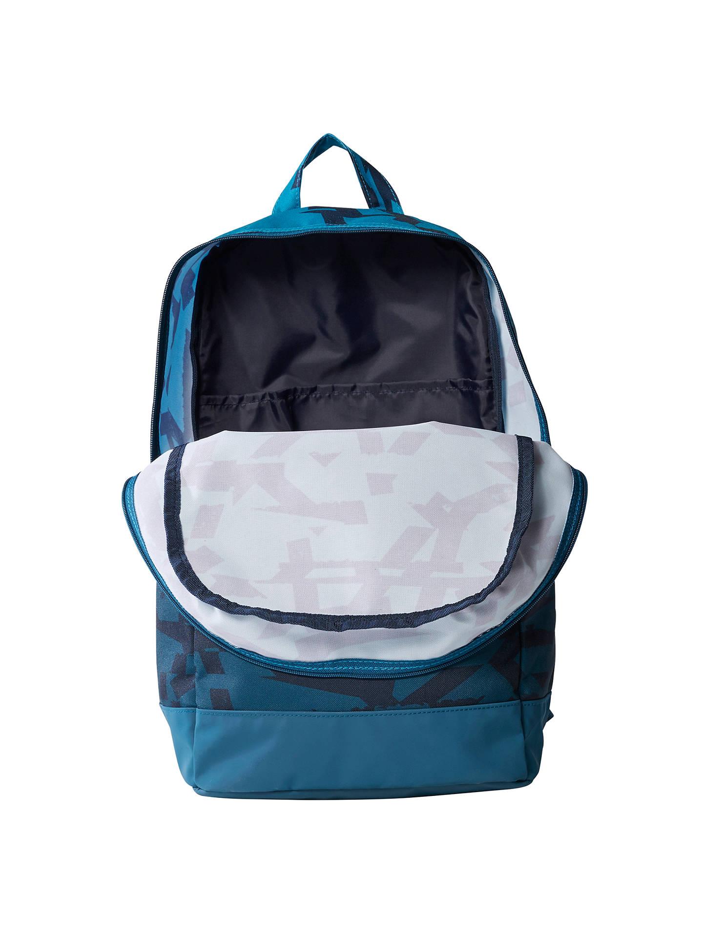 6b781beaeca5 adidas Classic Graphic Backpack, Medium, Blue at John Lewis & Partners