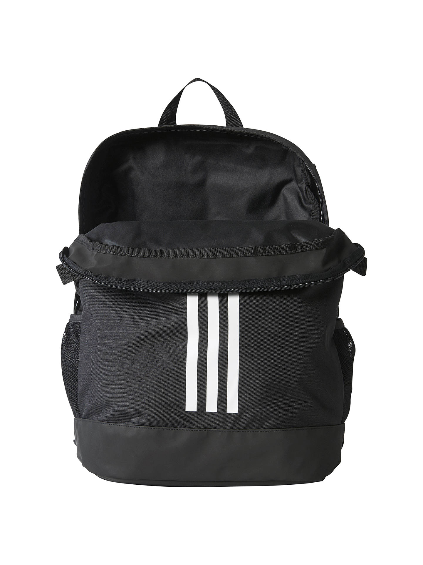 Buyadidas 3-Stripes Power Sports Backpack, Medium, Black Online at johnlewis.com