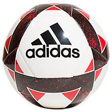 Buy Adidas Starlancer V Football, Size 5, Black Online at johnlewis.com