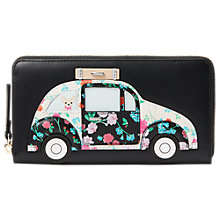 Buy kate spade new york Scenic Route Lacey Car Leather Zip Around Purse, Multi Online at johnlewis.com