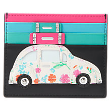 Buy kate spade new york Leather Car Card Holder, Multi Online at johnlewis.com