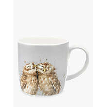 Buy Royal Worcester Wrendale Owls Mug, Multi, 400ml Online at johnlewis.com